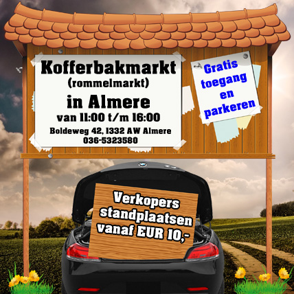 Kofferbakmarkt Almere