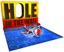 Hole in the wall tv game